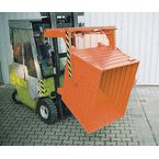 Stacking tippers, colour orange