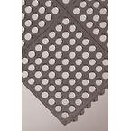 Matting: Anti-Fatigue Tiles Tile Grid Surface, Black