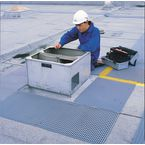 Matting Roof Walkway:Crossgrip 91Cm Wide X 10M Long Roll