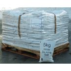 White de-icing salt - 200 x 5kg bags