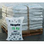 White de-icing salt - 72 x 15kg bags