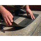 Flooring - Anti-Slip Treads Flat Cleat 1Mm,600X150Mm,Bk