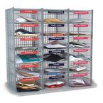 Mail sorting units - 18 Compartment kit (3 columns x 6) 915mm high - easy sort compartment type