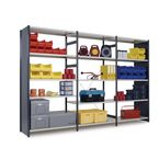 Painted boltless shelving - Add on bays