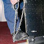 Hinged aluminium bridge plates - Lifting handles