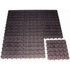Matting - Gen. Use Floor Tile Versatile Black,Pk9 20Mm Thick