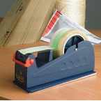 Bench-top tape dispenser,standard for tape up to 75mm wide