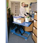 Mobile lift tables, capacity 150 kg - lifting height 780mm