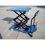 Mobile lift tables, capacity 300 kg - lifting height 1350mm