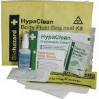 Single use body fluid disposal kit