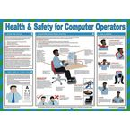 Safety posters - Health & Safety for computer operators