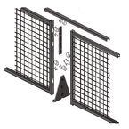 Modular mesh partitioning - Corner kit