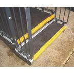 Slipgrip Landing Cover, Black With Yellow Nose, 1000Mmx1200Mm