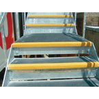 Slipgrip Stair Tread, Yellow 220Mm Deep 600Mm Wide
