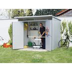 Premier storage shed - Additional door and floor panel sold separately