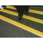 Aluminium Nosing, 600Mm, 55X55, Yellow Colour