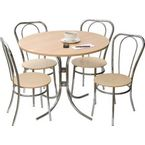 Deluxe bistro table and chair set