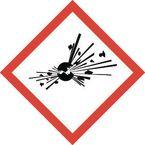 Clp regulation labels - Explosive