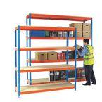Extra shelves for 1500mm wide Heavy duty boltless shelving