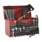 3 Drawer topchest - 93 piece tool kit