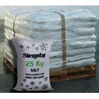 White de-icing salt - 40 x 25kg bags
