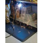 Welding bay anti fatigue mat