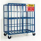 Mobile and static cylinder cages - Mobile