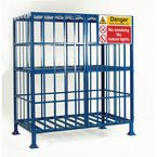 Mobile and static cylinder cages - Static