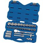 "30 Piece 1/2"" square drive socket set"