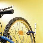 Plastic coated cycle storage hook