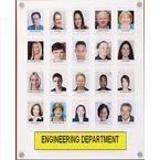 Staff photo boards