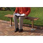 Wood bench seat