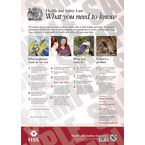 A3 Health & Safety Law poster - Pack of 5
