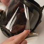 Force 10 Peel off visor covers