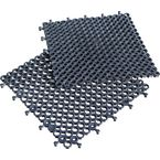 Heavy duty open-grid interlocking flooring - Pack of 16