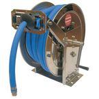 Stainless steel rewind hose reels for air/water/oil.diesel - reel only no hose