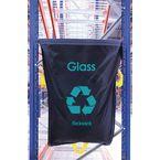 Glass Waste Blue Racksack Pk 5