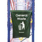 General Waste Green Racksack Pk 10