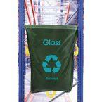 Glass Waste Green Racksack Pk 10