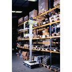 Access Platform - Manual  Push Around, 4.2M Working Height, With Acrylic Shelf