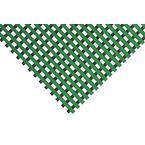 Ribbed Vinyl Matting,  Green 1.2M X Per Linear Metre
