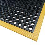 Slip-Resistant Safety  Mat, Yellow Edge 910X1550X13Mm